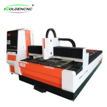 Fiber laser cutting machine for stainless steel and carbon steel