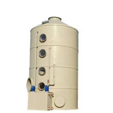 Скруббер для отработанного газа для обработки CO2