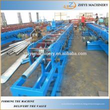 Rodillo de tubo de lluvia que forma la máquina / el rollo de la canaleta del agua que forma la máquina