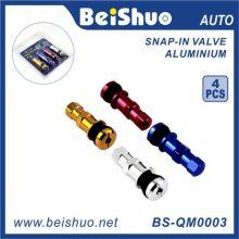 4PCS / Set buntes Auto-Reifen-Ventil