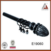 E19060 high quality resin curtain rod finial,curtain rod