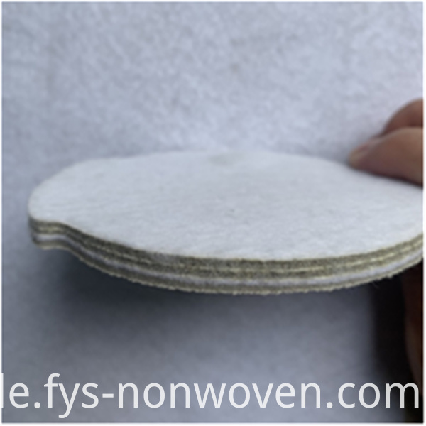 Automobile interior non-woven fabric