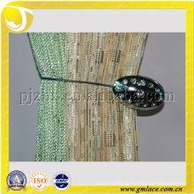 Clavos magnéticos de la suspensión de la cortina del diamante del metal Tiebacks para la decoración de la cortina