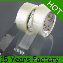 ISO 9001, bande adhésive passée par GV, bande d'emballage de BOPP