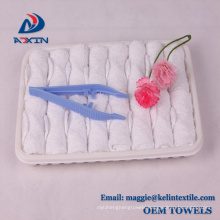 2018 Hot Sale Lemon Scent Airline Towel in Tray with Plastic Tongs 2018 Hot Sale Lemon Scent Airline Towel in Tray with Plastic Tongs