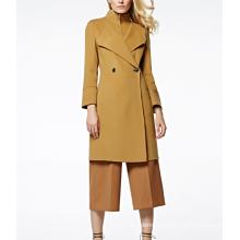 17PKCSC006 women double layer 100% cashmere wool coat