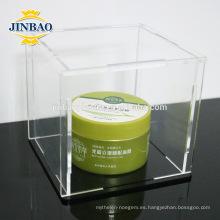 Fabricante de cajas de acrílico claro de Jinbao al por mayor 3m m 5m m
