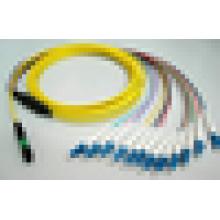 Кабель с разъемами MPO для LC Кабель для разветвления кабеля MTP mini cable FTTH