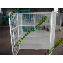 Moving Mesh Folding Transport Roll Container