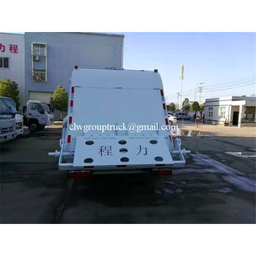 Hydraulic Lifting 5CBM Garbage Truck