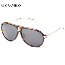Latest promotion metal sunglasses men's fashion sunglasses