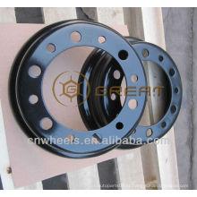 Utility Forklift jante de roda dividida, 4.33R-8 roda de empilhadeira