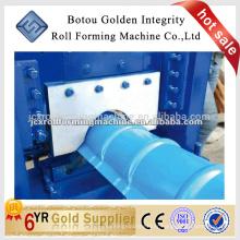 Machine de formage à rouleaux en caoutchouc métallisé en métal galvanisé / machine à laminer à froid en tôle d'acier
