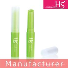Manufacturer makeup empty plastic lip balm packaging
