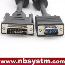 VGA 15pin männlich zu DVI 24 + 1 Pin männlich Kabel