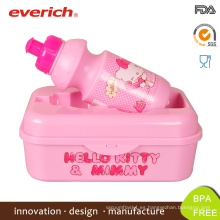 Everich Nuevo diseño BPA libre de niños Bento caja de almuerzo