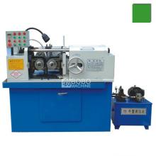 Automatic hydraulic thread rolling machine for thread rod making