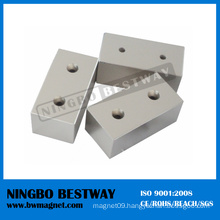 N42 NdFeB Magnet with Countersink Hole