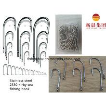 Stainless Steel 2330 Kirby Sea Fishing Hook