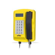 Водонепроницаемый прочный Литой оффшорных телефон с клавиатурой и LCD