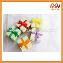 2016 produits les plus vendus de boîte cadeau colorée avec design ruban