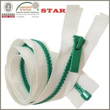 Autolock dientes de color plástico cremallera