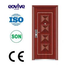 Puerta plana matal puerta exterior exterior media puerta media puerta