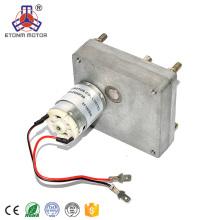 Motor de 24v dc con reductor y caja de cambios
