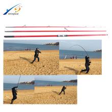 SFR064 varios colores en blanco y negro de fibra de carbono caña de pescar surf casting