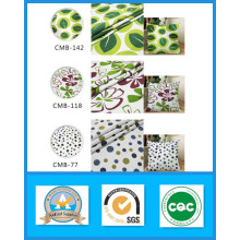 Stock 100% coton imprimé tissu de toile poids 250GSM largeur 150cm