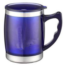 Garrafa de vácuo com copo de aço inoxidável Thf338