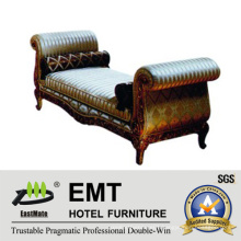 Luxurious Star Hotel Bedroom European Style Bed End Stool (EMT-BS06)