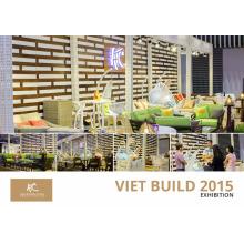 Vietnam Vietbuild 2015 Muebles de mimbre de patio en Ho Chi Minh - Vietnam