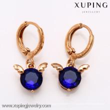 26538- Xuping Boucles d'oreilles de charme New & Hot Good Quantity Jewelry