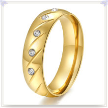 Fashion Accessories Stainless Steel Jewelry Crystal Ring (SR147)