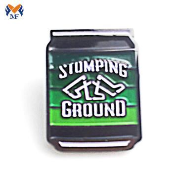 Zinc alloy custom metal logo pin badge