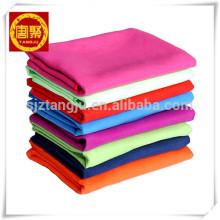 Populares de encargo de múltiples colores de microfibra de tela de gamuza toalla de yoga Popular Popular de múltiples colores de microfibra de tela de gamuza toalla de yoga