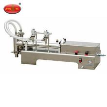 Electrical horizontal double head liquid filling machine ,beverage filling machine,water filling machine