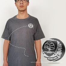 Factory Customized Flex Fabric Flock sticker heat transfers logo supplier for t-shirts