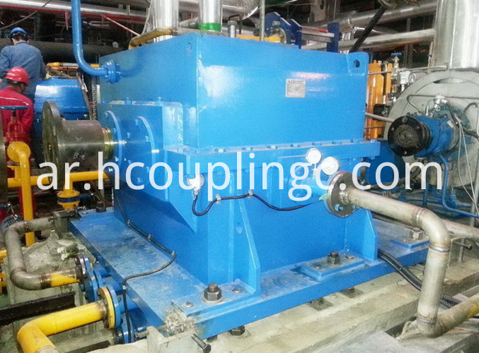 Geared Hydraulic Coupling Service