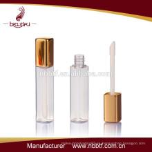 Brillo de labios de color oro al por mayor hacer su propia botella brillo de labios brillo de labios