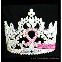 Tiara cristalina de moda de la cinta del regalo de la promoción de calidad superior