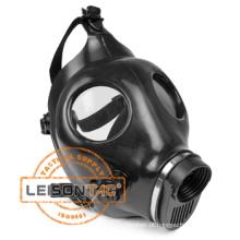 Máscara de gás militar para capacete