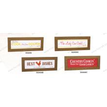 Colgador de pared de madera / estante de la pared del MDF