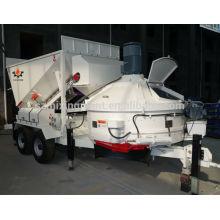 Planet concrete mixer mobile concrete mixing plant MB1200 10-16m3/h