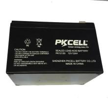 La OEM recargable de la batería de plomo de la batería recargable de UPS de PKCELL 12V 12Ah acepta