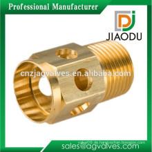 Hersteller bester Verkauf geschmiedet npt cw617n Messing Drehteile hydraulische pneumatische Gewinde