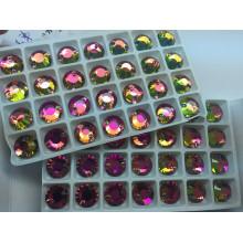 Rainbow Color Vm Sew on Stones Beads