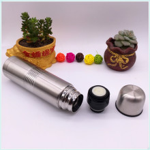 500ml Double Wall Stainless Steel Vacuum Flask Water Bottle with PU Cover