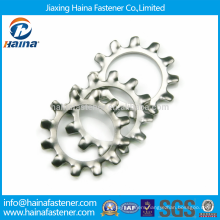 DIN6797 Stainless Steel Toothed Lock Washers with External Teeth